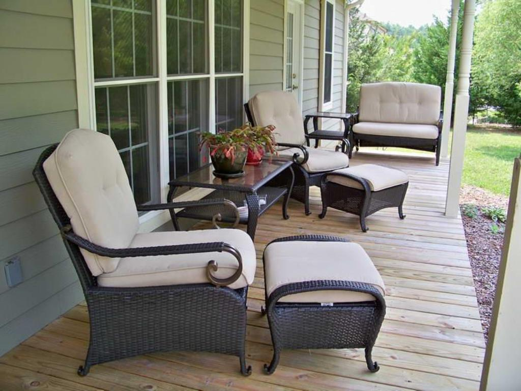 Decoration Wicker Porch Furniture Design Ideas To Increase Your Own for Porch Furniture