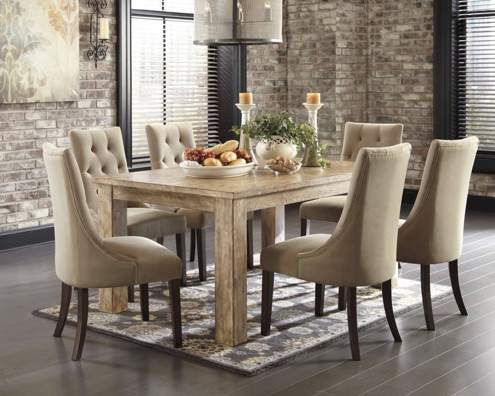 dining table and chair mestler bisque rectangular dining room table 4 light brown uphdining table and chair