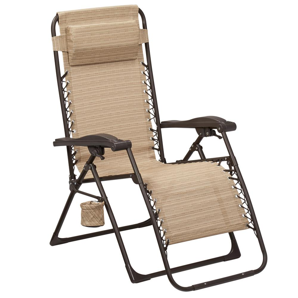 outdoor chair hampton bay mix and match zero gravity sling outdoor chaise loungeoutdoor chair