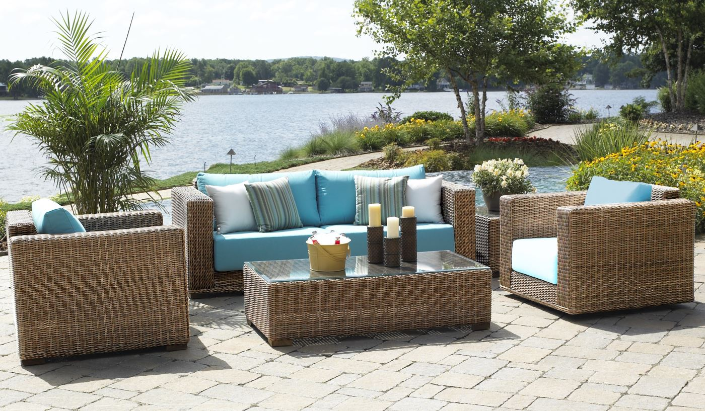 Outdoor Wicker Patio Furniture Picture Sathoud Decors Ideas inside Wicker Outdoor Furniture