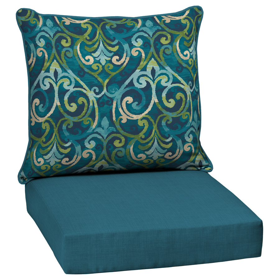 Shop Patio Furniture Cushions At Lowes regarding Patio Chair Cushions