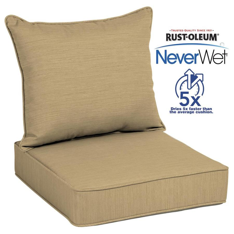 Shop Patio Furniture Cushions At Lowes within Patio Cushions