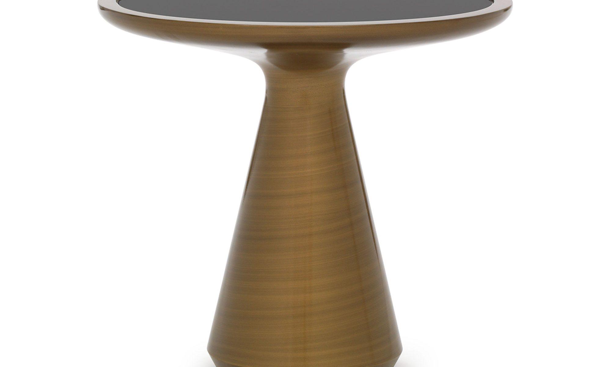side table addie side table bronze hostside table