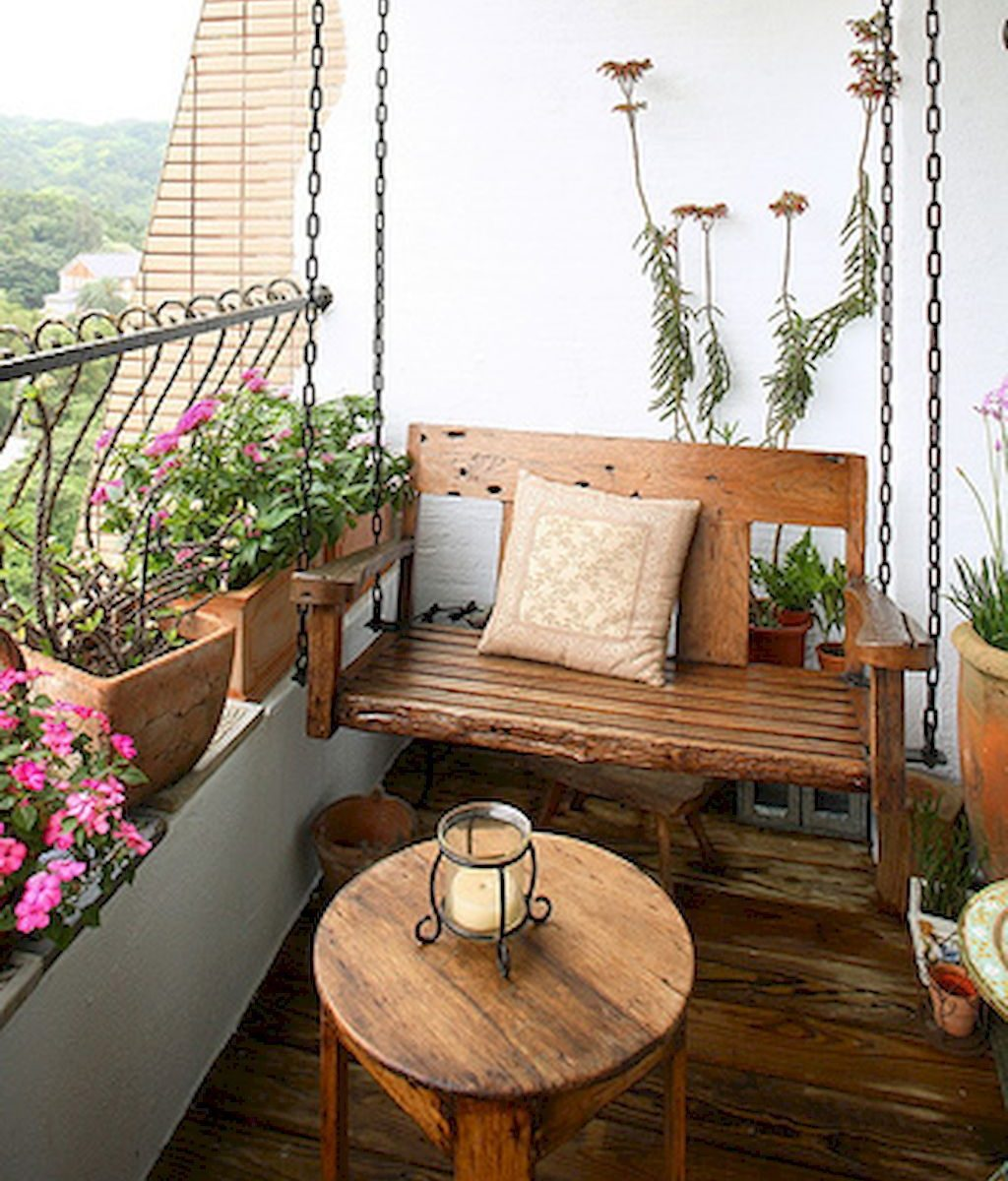 Small Apartment Balcony Furniture And Decor Ideas 6 Balcony for Balcony Furniture