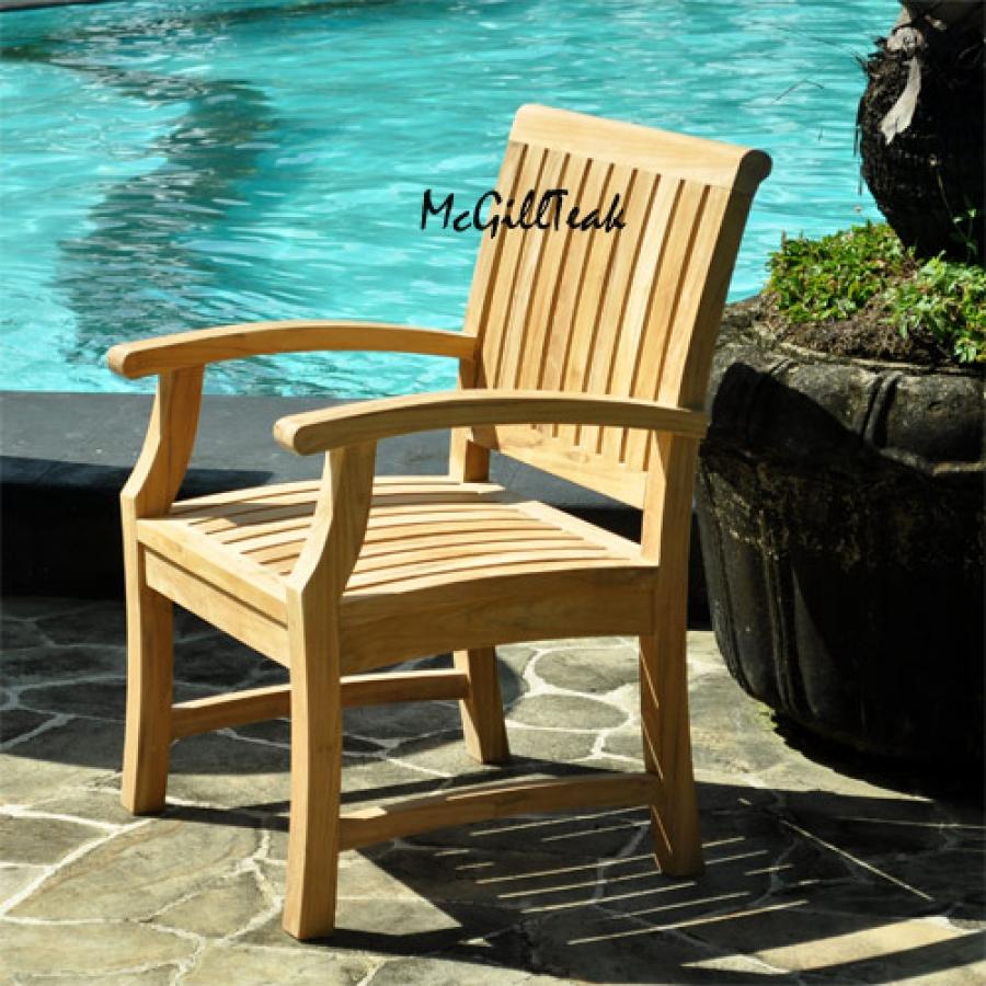 teak garden chair titan teak outdoor chair patio dining arm chairteak garden chair