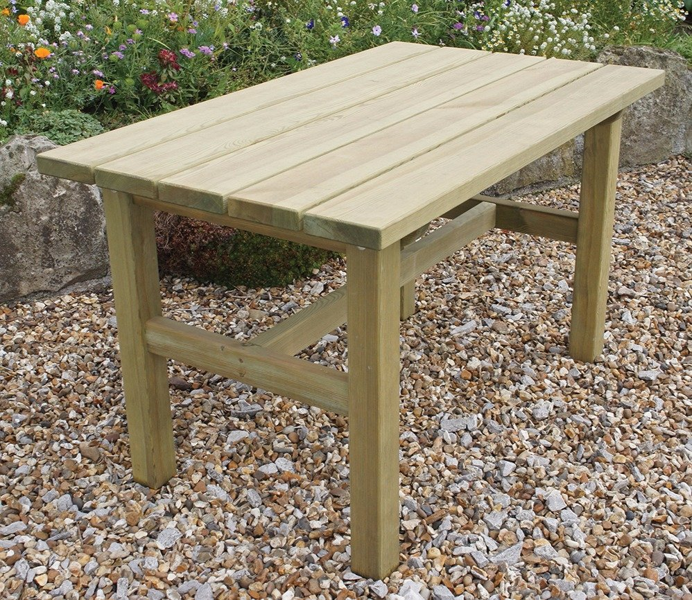 Zest Emily Garden Table Gardensitecouk intended for Garden Table